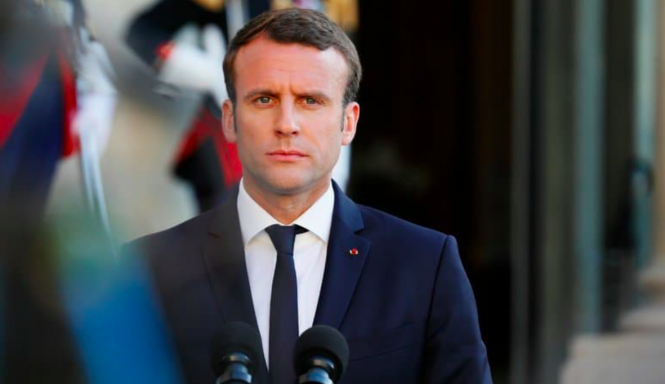 President Macron. Macron promises 'immediate action' against Islamic terrorism