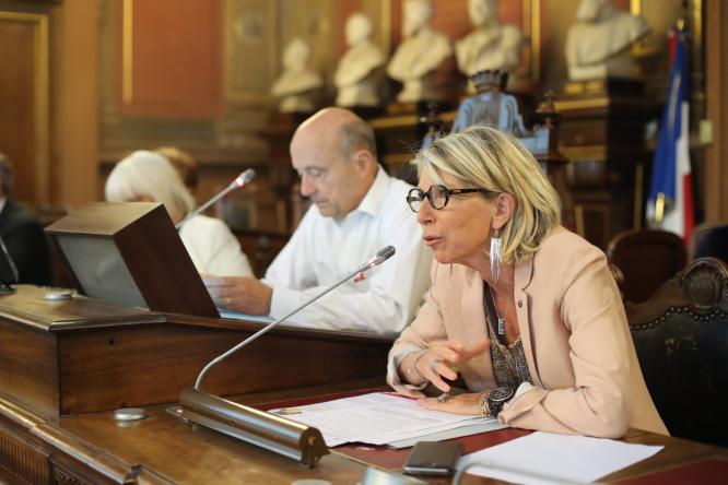 Emmanuelle Cuny Deputy Mayor of Bordeaux responsible of education
