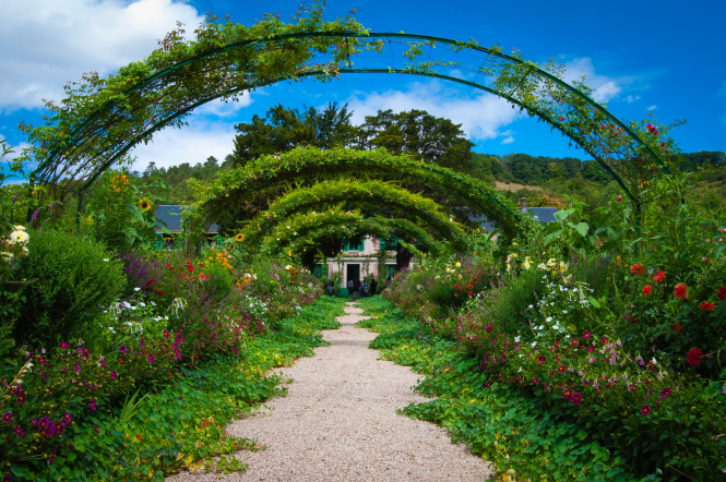 An impressionist's dream garden: Fondation Claude Monet, Giverny, France.