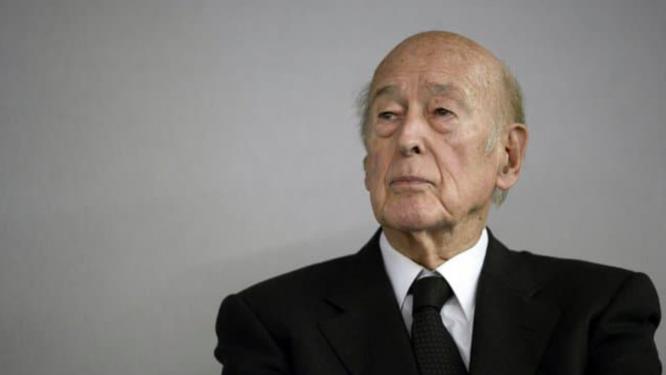 Former President Valéry Giscard d'Estaing. France remembers former President Valéry Giscard d'Estaing