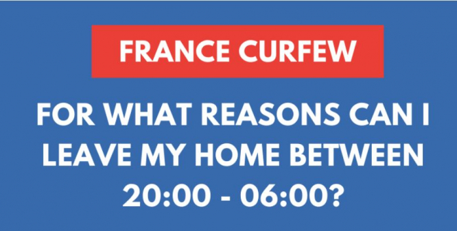 France to Replace COVID-19 Lockdown With Curfew Starting Next Week