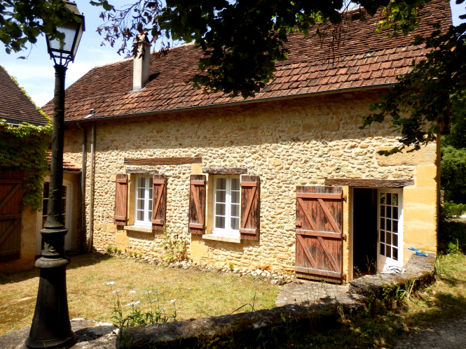 An image of a French gite with stable doors
