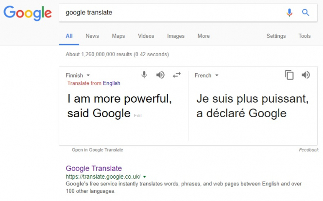 "New online translator ""more powerful than Google"""