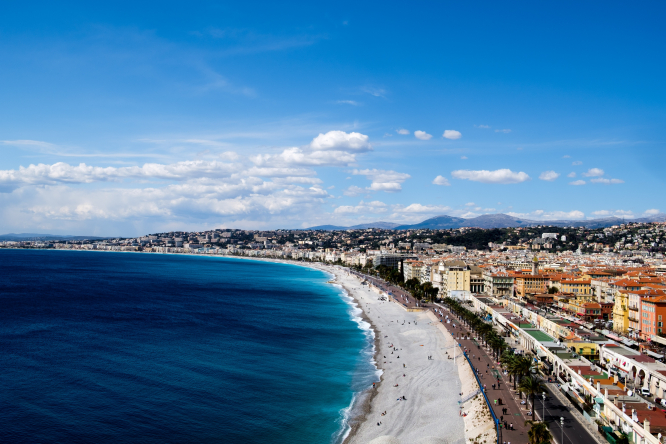 How is the tourism industry faring post-Covid-19? Pictured: Nice, France
