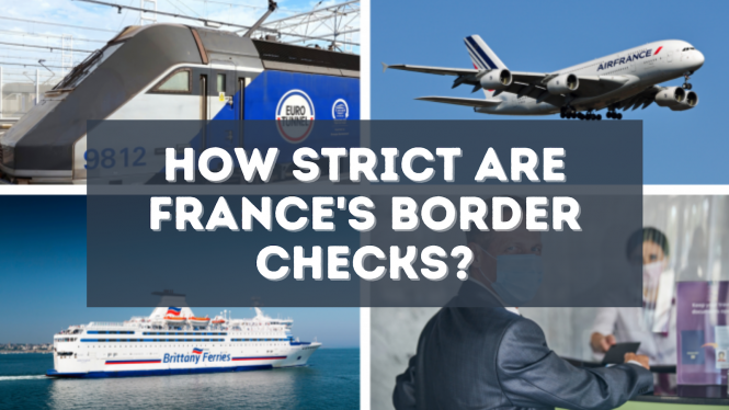 Travelling to France by plane, train or ferry