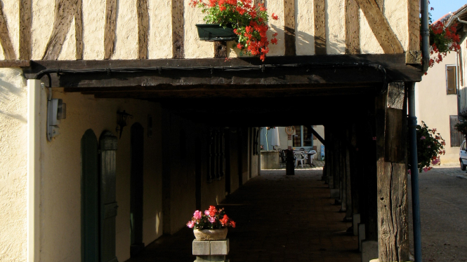 How to holiday post-lockdown? Stay local and discover new destinations. Pictured: Tillac main street, Tarbes, France.