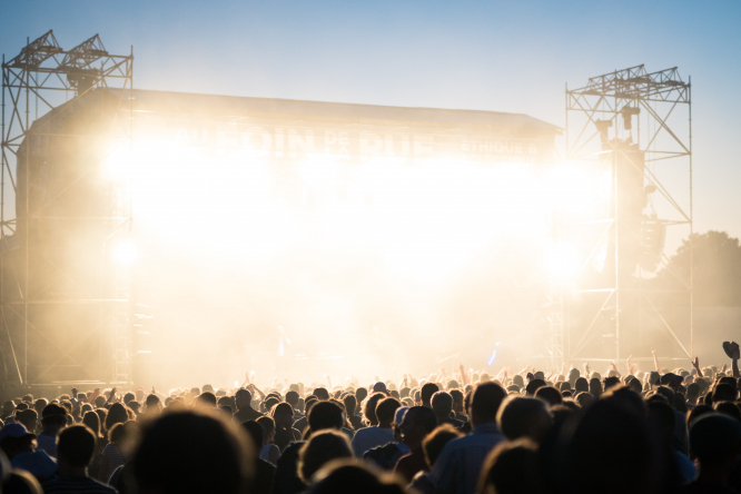 How trustworthy are ticket re-selling sites? Reader questions, answered. Pictured: a music festival in Saint-Denis-de-Gastines, France.