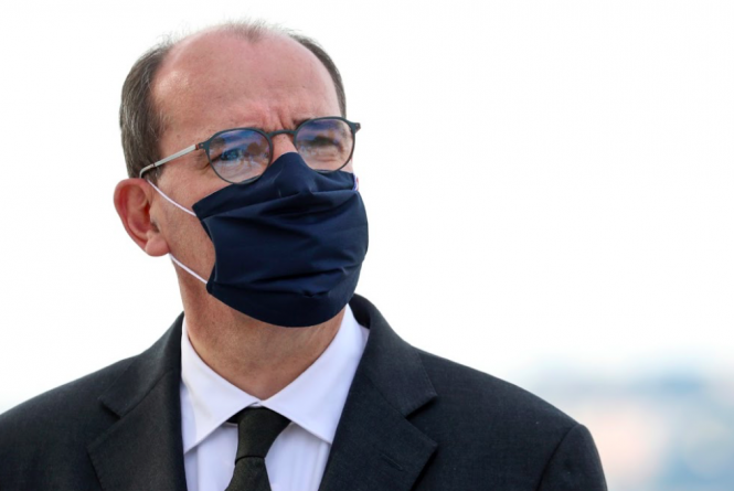 Jean Castex wearing a mask. France lockdown: New announcements coming tomorrow