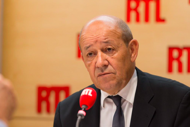 Minister Jean-Yves Le Drian on RTL. France considering 'amber' listing for UK due to Indian variant