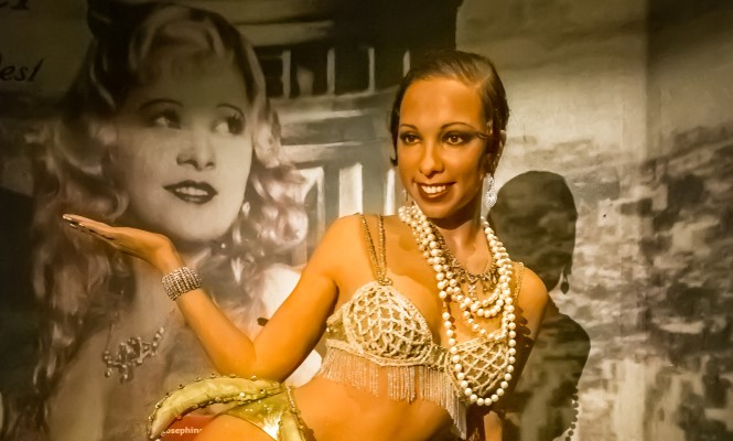 A waxwork of Josephine Baker at Madame Tussaud's in NYC. US-born French icon Josephine Baker to enter France's Pantheon