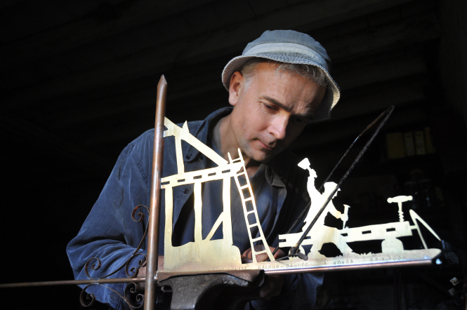 Meet the French weathervane-maker Thierry Soret, who has been crafting for a decade.