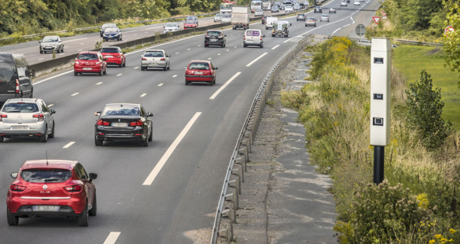 Location of all road safety cameras in France revealed