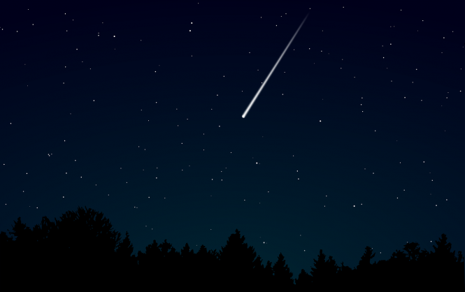 A meteor in the sky. Scientists ask for help to find meteorite in south France