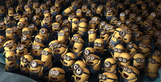 Frenchman Pierre Coffin, who created the Despicable Me and The Minions movies, is a graduate of Les Gobelins