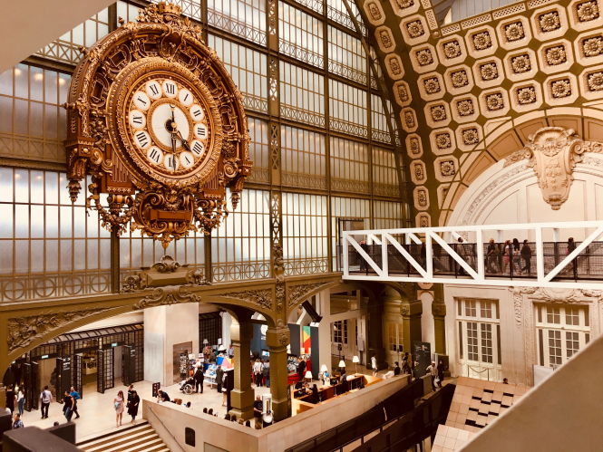 Money saver tip: how to visit museums for free. Pictured: Musee D'Orsay, Paris, France.