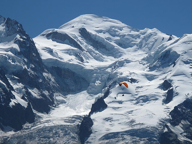 Mont Blanc. French mountain weather and expedition expert predicts 'good winter snow'