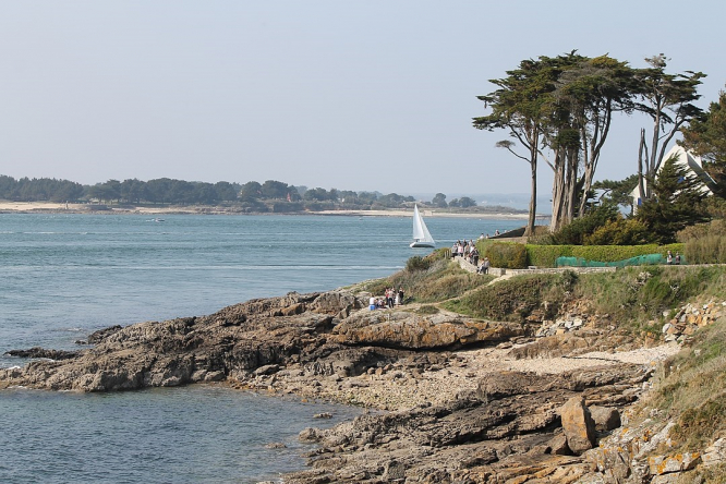 The Gulf of Morbihan, Brittany. A study of Morbihan has found that more people have been affected by Covid-19 than previously thought