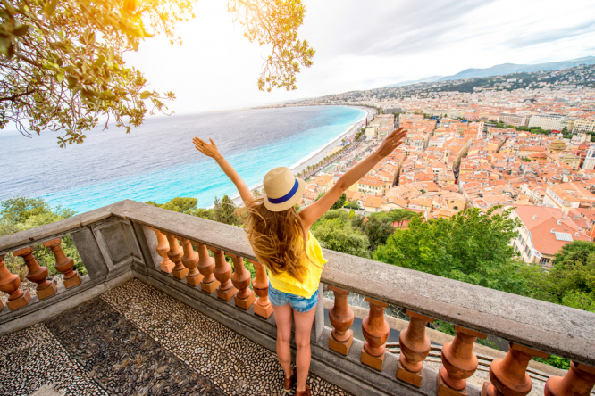 A view of Nice, France