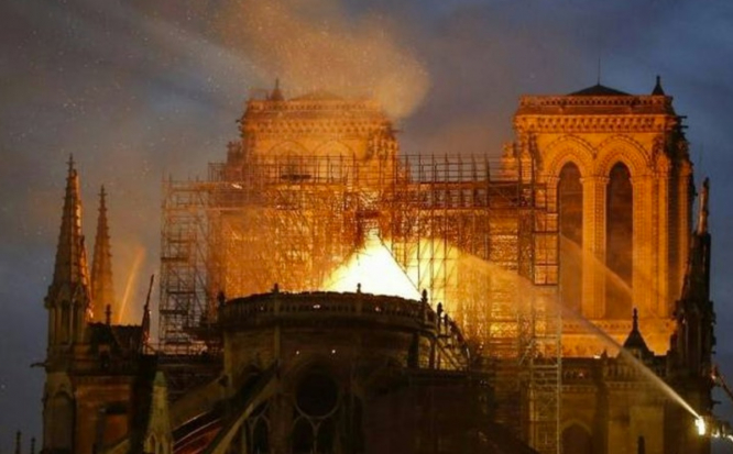 Notre Dame in flames. Notre Dame fire: New cause investigated as 2024 service date confirmed on second anniversary of fire