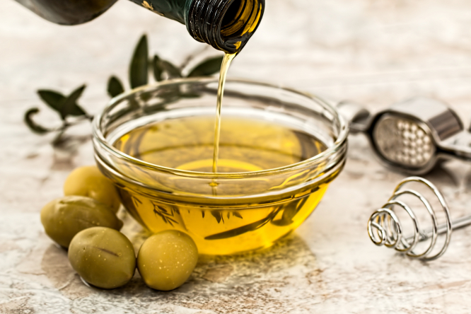 Olives and olive oil. 49% of olive oil sold in France labelled with false claims