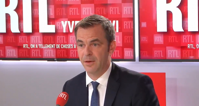 Health minister Olivier Veran speaks to RTL. He said that the 200 new Covid clusters in France are under control