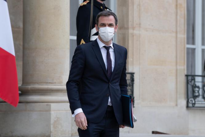 France's Health Minister Olivier Véran