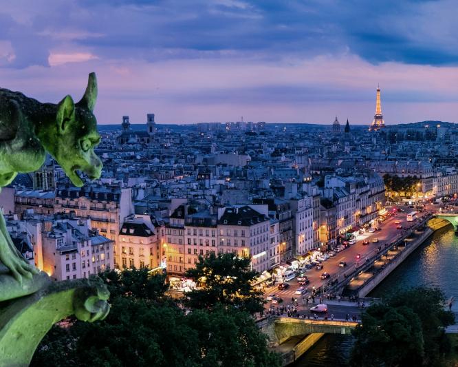 View from the Cathédrale Notre-Dame de Paris, France. 'One-stop shop' for renovation aid aims to simplify eco-grants. Pedro Lastra / Unsplash