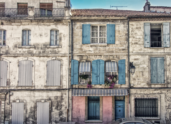 Owning a second home in France: how second home owners can become residents. Pictured: Arles, France.