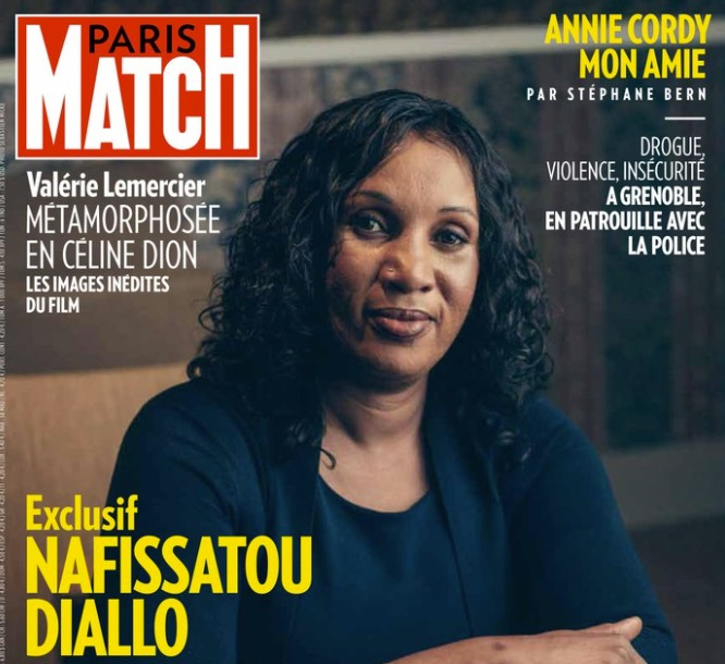 Nafissatou Diallo on the cover of Paris Match. DSK sexual assault accuser speaks out in French magazine