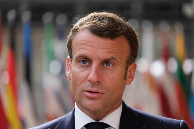 President Macron. President Macron defends rules for French health pass after protests