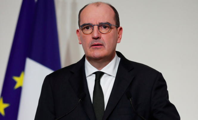 Prime Minister Jean Castex. Covid France: Update on cases in 20 high-alert departments