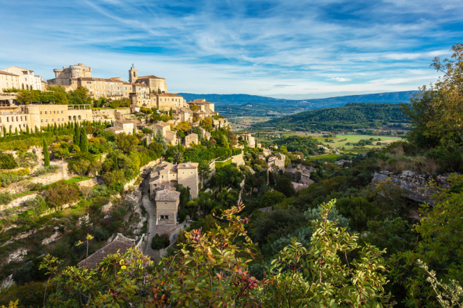 A photo of Gordes, Provence. Holiday bookings in France catching up post-pandemic