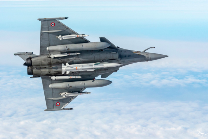 Rafale military aircraft. Why you may hear military planes flying over your home in France today