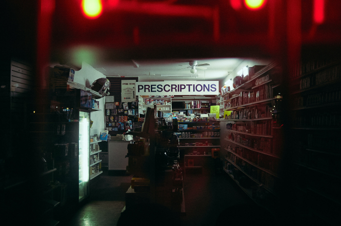 Large sign reads 'prescriptions' inside a shop. Reader question: Are UK prescriptions eligible for a refund? Patrick Tomasso / Unsplash