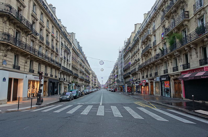 An empty Rue de Rennes in Paris. How will France's new lockdown be different from spring?