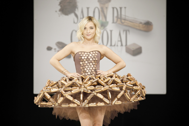 Chocolate dress