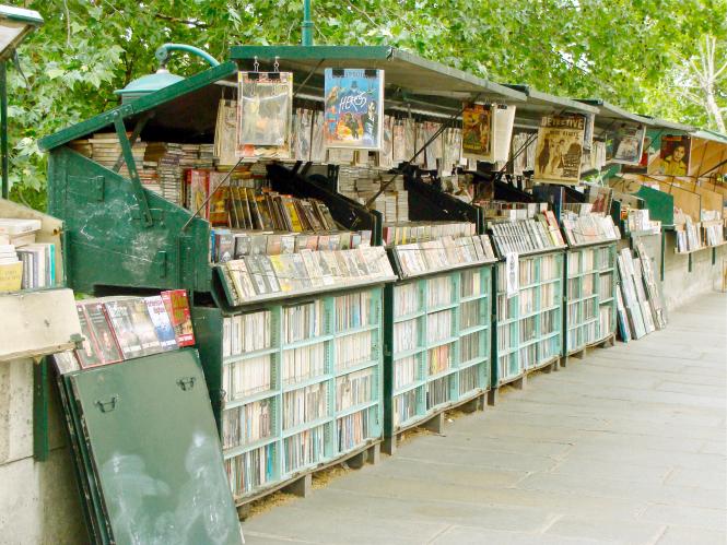 Seine book sellers