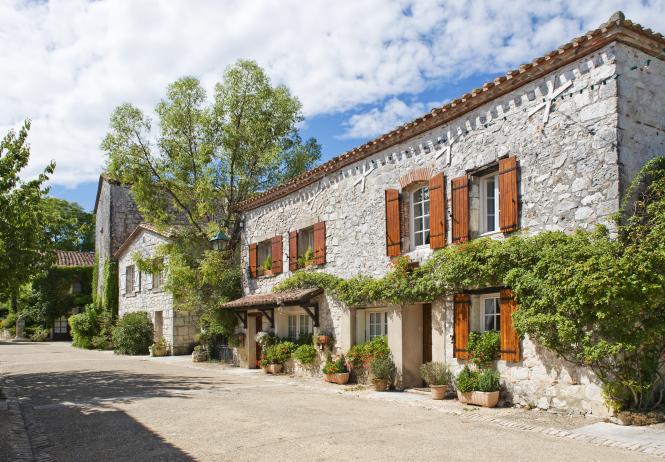 A house in Pujols, near Villeneuve Sur Lot, Southwest France