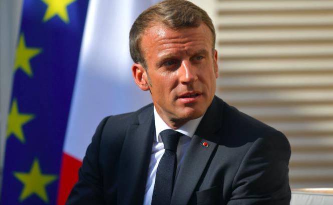 President Macron of France.