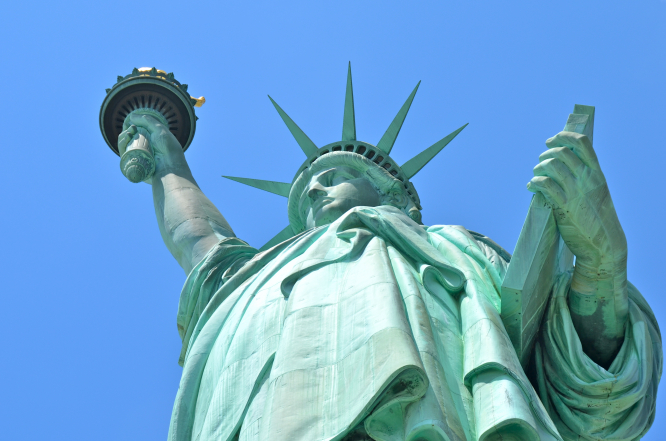 The Statue of Liberty in New York City. France to send second Statue of Liberty statue to United States in renewed relations move