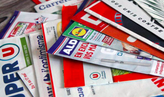 Supermarket flyers. Plan to make letterbox flyers in France 'opt in' rather than 'opt out'