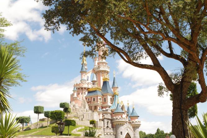 The castle at Disneyland Paris. Staff ask Australian mother to stop breastfeeding at Disneyland Paris