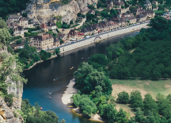 The environmental news making headlines in France this month. Pictured: Dordogne, France.
