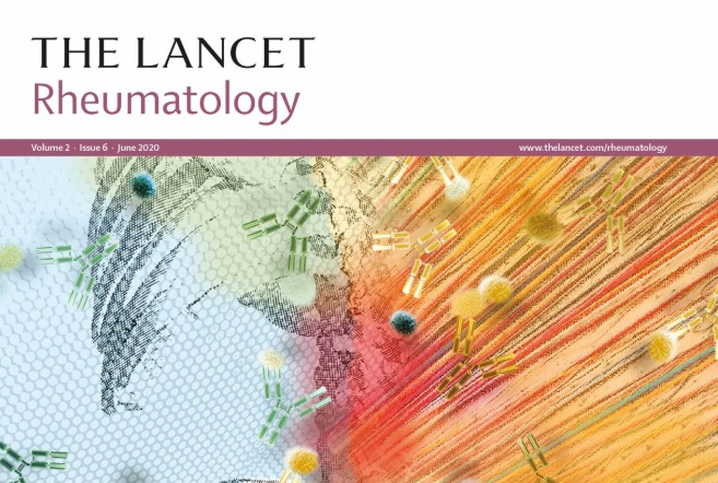 """Front cover of the specialist medical journal The Lancet Rheumatology. A new study has found that a drug named """"anakinra"""" has shown """"encouraging results"""" and """"provides hope"""" in treating patients with severe forms of Covid-19."""