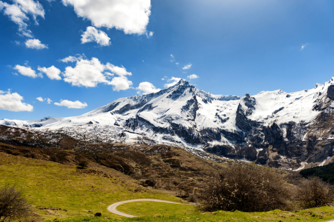 The Pyrenees mountains. Bones found in Pyrenees linked to missing British hiker