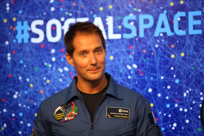 Thomas Pesquet the first French commander of the International Space Station