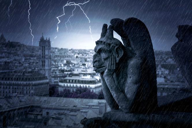 A storm above Paris
