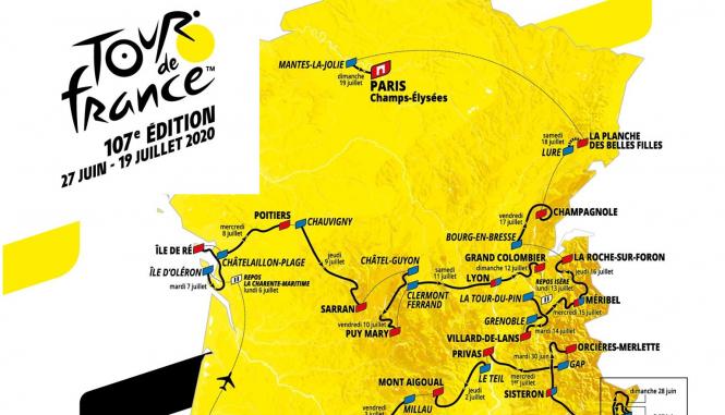 Tour De Francia 2020.Tour De France 2020 Route Includes Crazy New Summit