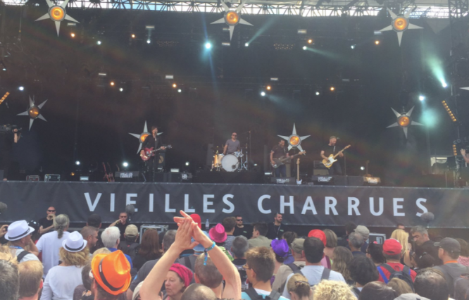 Crowds at the Vielles Charrues festival in a previous year. Covid France: Summer 2021 festivals limited to 5,000 people