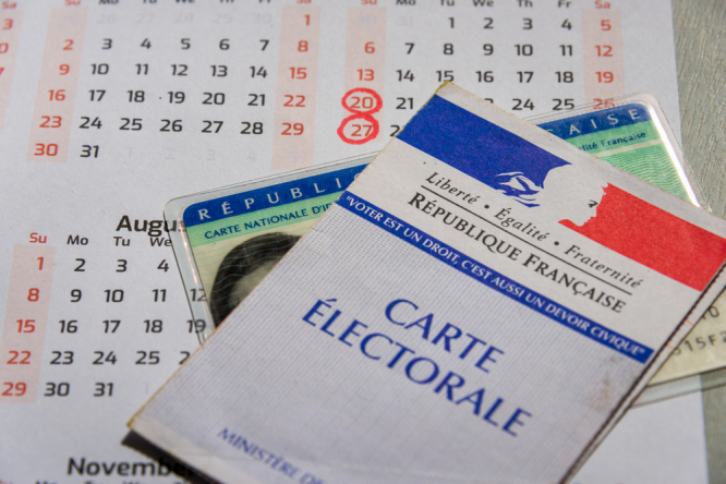 Voting card and calendar. France regional election 2021 results: Who won and who lost?